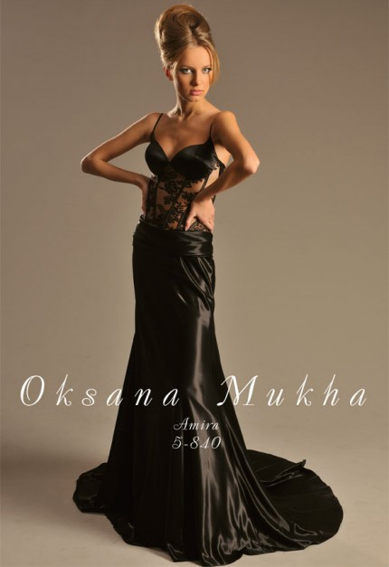 Оксана муха вечерние платья фото