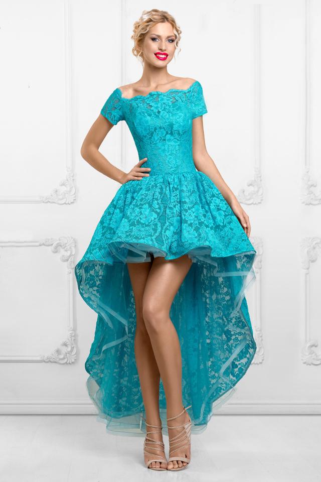 Вечерние платья удлиненные сзади